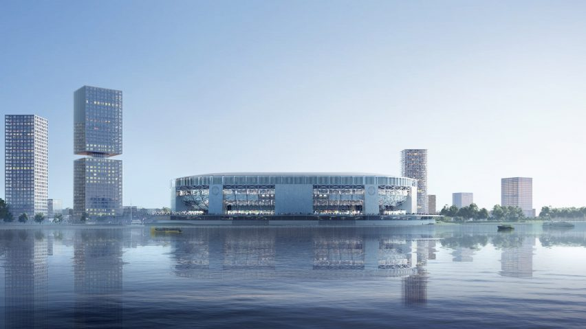 oma to be largest football stadium in