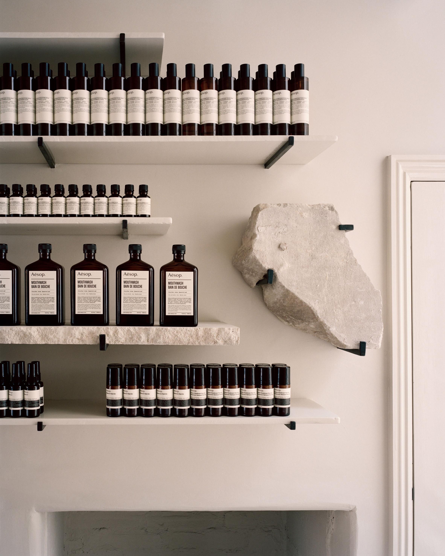 Aesop Bath store, England designed by JamesPlumb