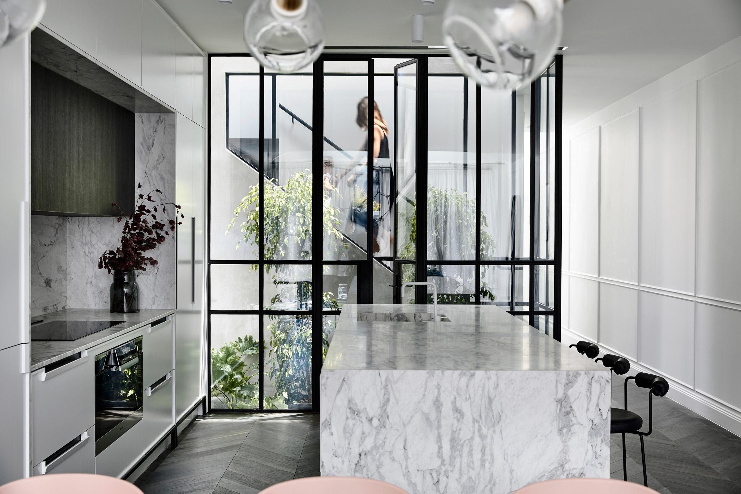 Interiors of Casa Atrio, designed by Biasol