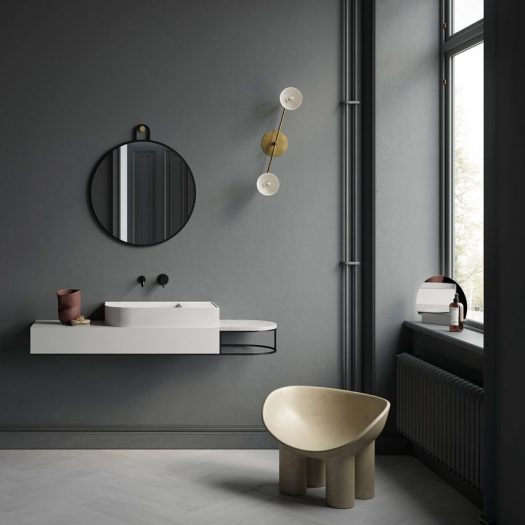 Nouveau bathroom furniture by Bernhardt-Vella for Ex.T