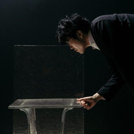Nendo lets gravity shape its latest Melt furniture collection for WonderGlass