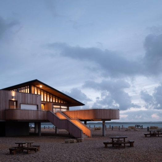 The Lookout was designed by Hampshire County Council's Property Services