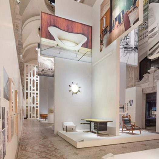 Gio Ponti exhibition Musee des Arts Decoratifs
