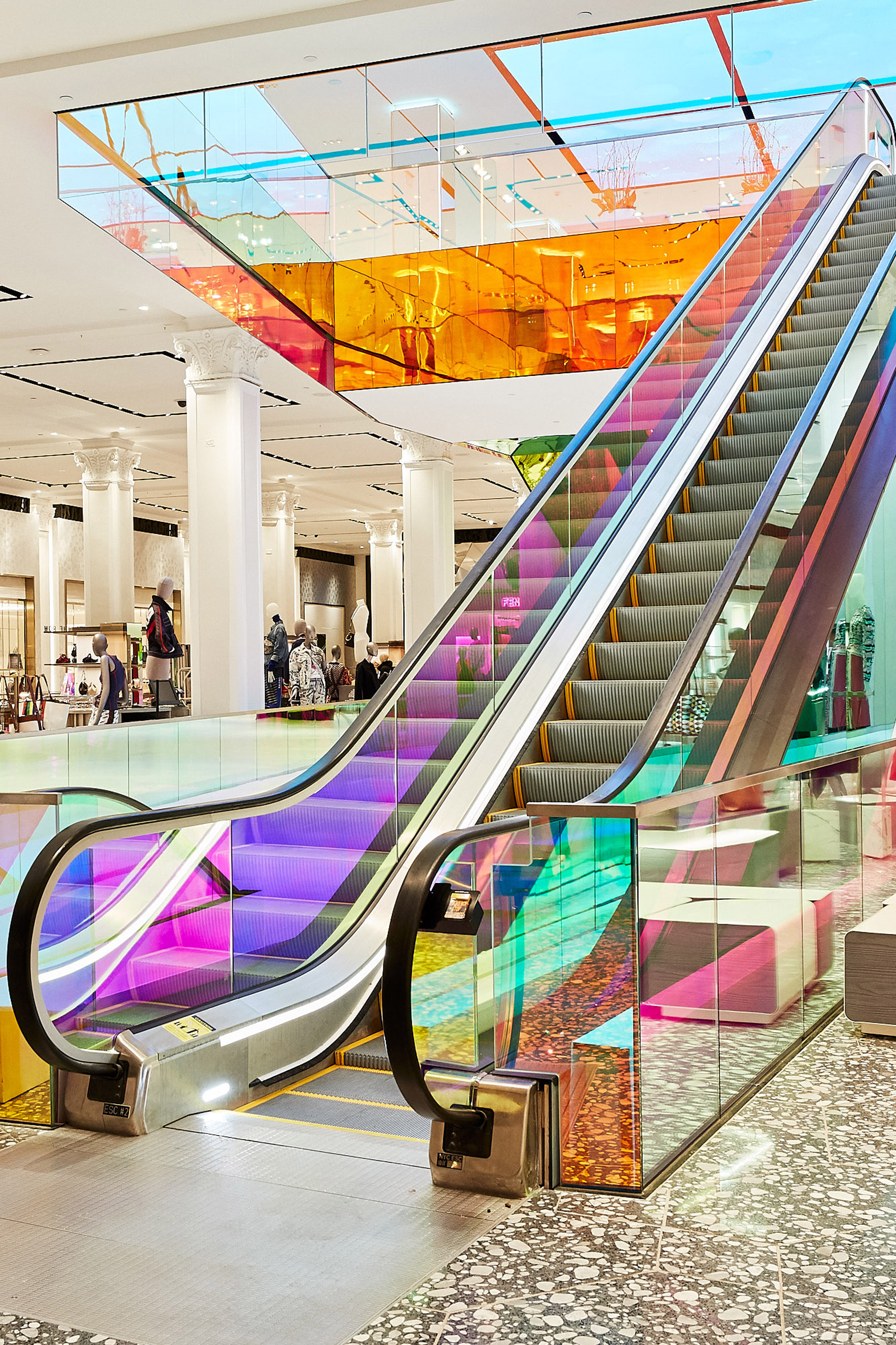 Saks staircase by OMA