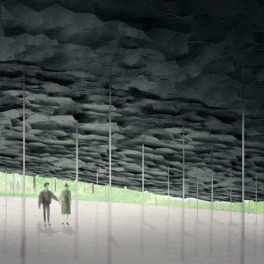 Serpentine Pavilion 2019 by Junya Ishigami visualisation