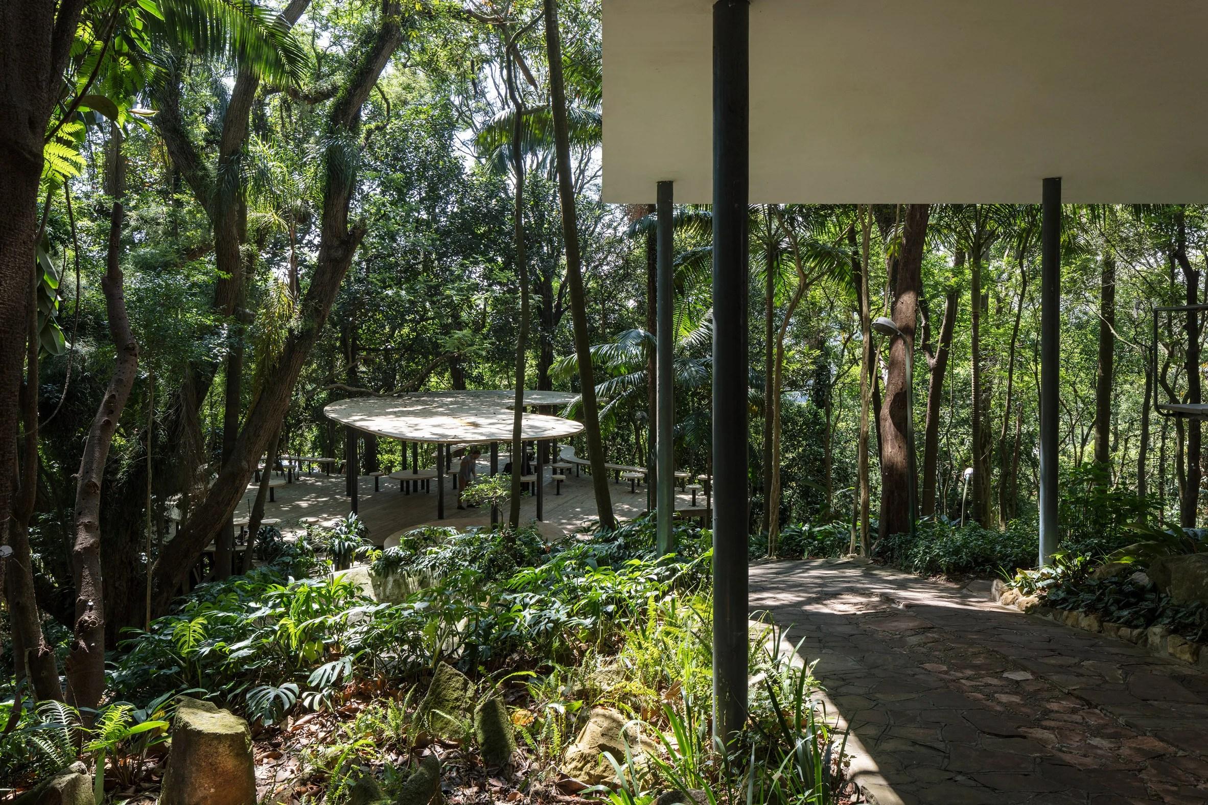 Summer House by Sol Camacho at Lina Bo Bardi's Glass House