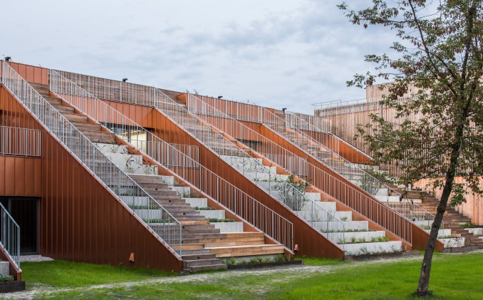 Akademeia High School by Medusa Group Architekci in Warsaw