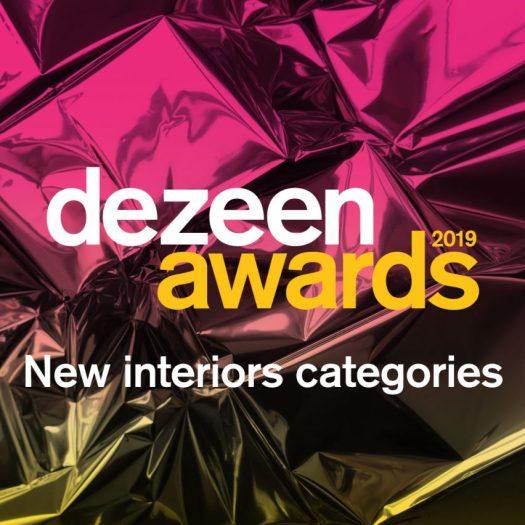 Dezeen Awards 2019 new interiors categories