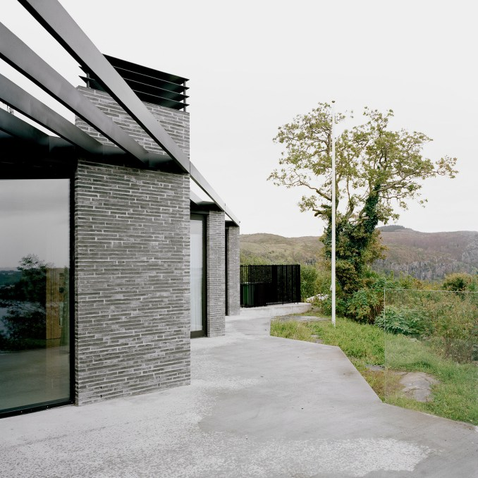 Vacation House on the Mastrafjord by Espen Surnevik