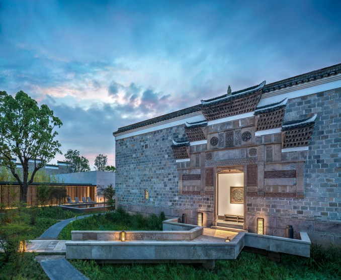 The Amanyangyun won the award for Hotel of the Year at the 2019 AHEAD Asia awards