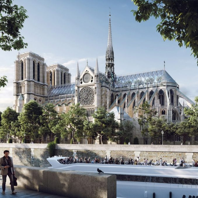 Notre-Dame animation