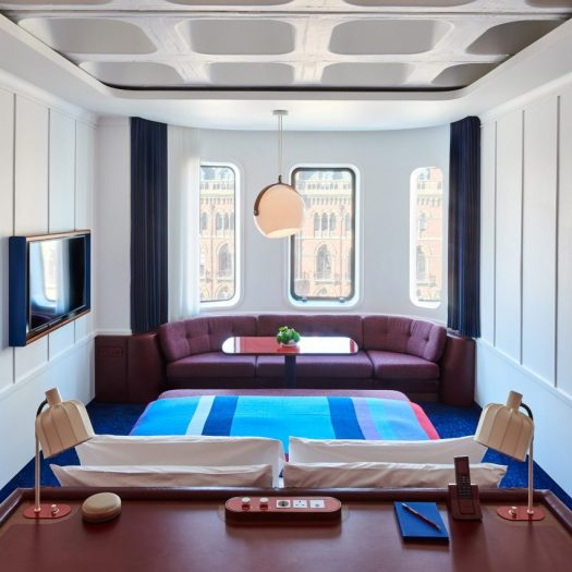 The Standard hotel in London by Shawn Hausman Design
