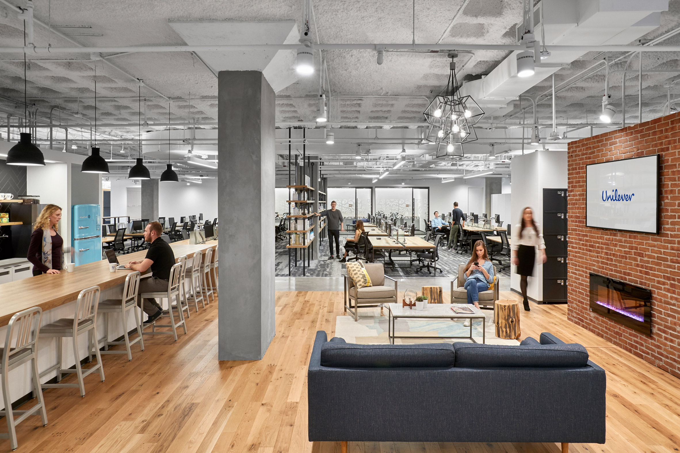 Unilever headquarters in New Jersey-by Perkins+Will