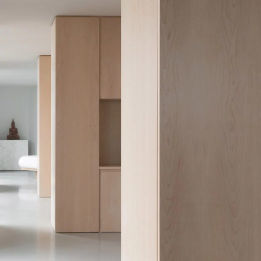 Barbican apartment designed by John Pawson