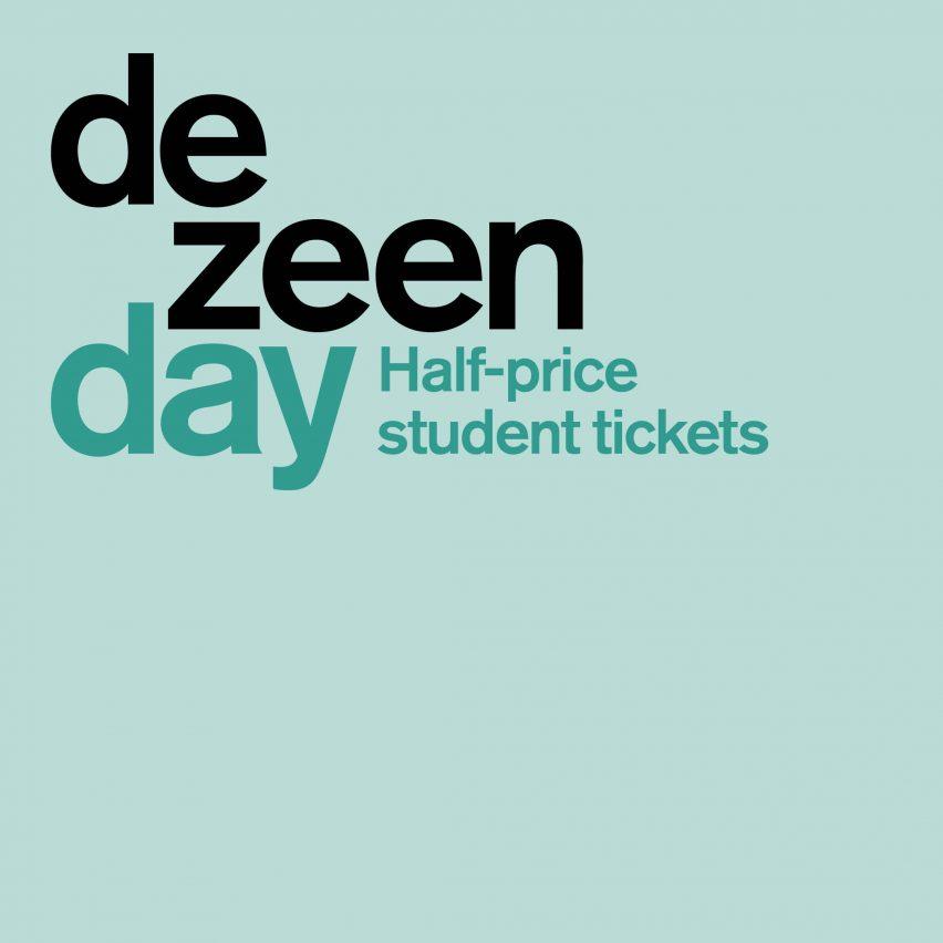 Dezeen Day student tickets