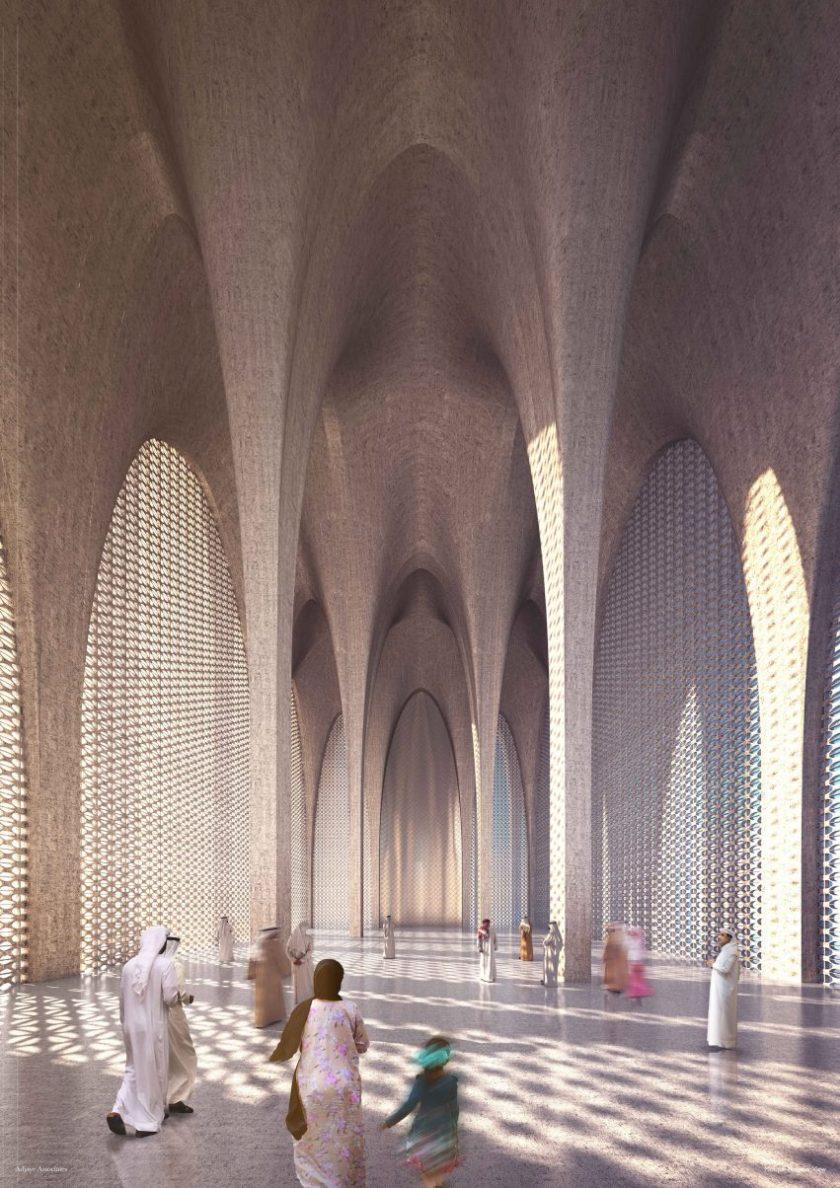 The Abrahamic Family House on Saadiyat Island, Abu Dhabi, UAE by David Adjaye