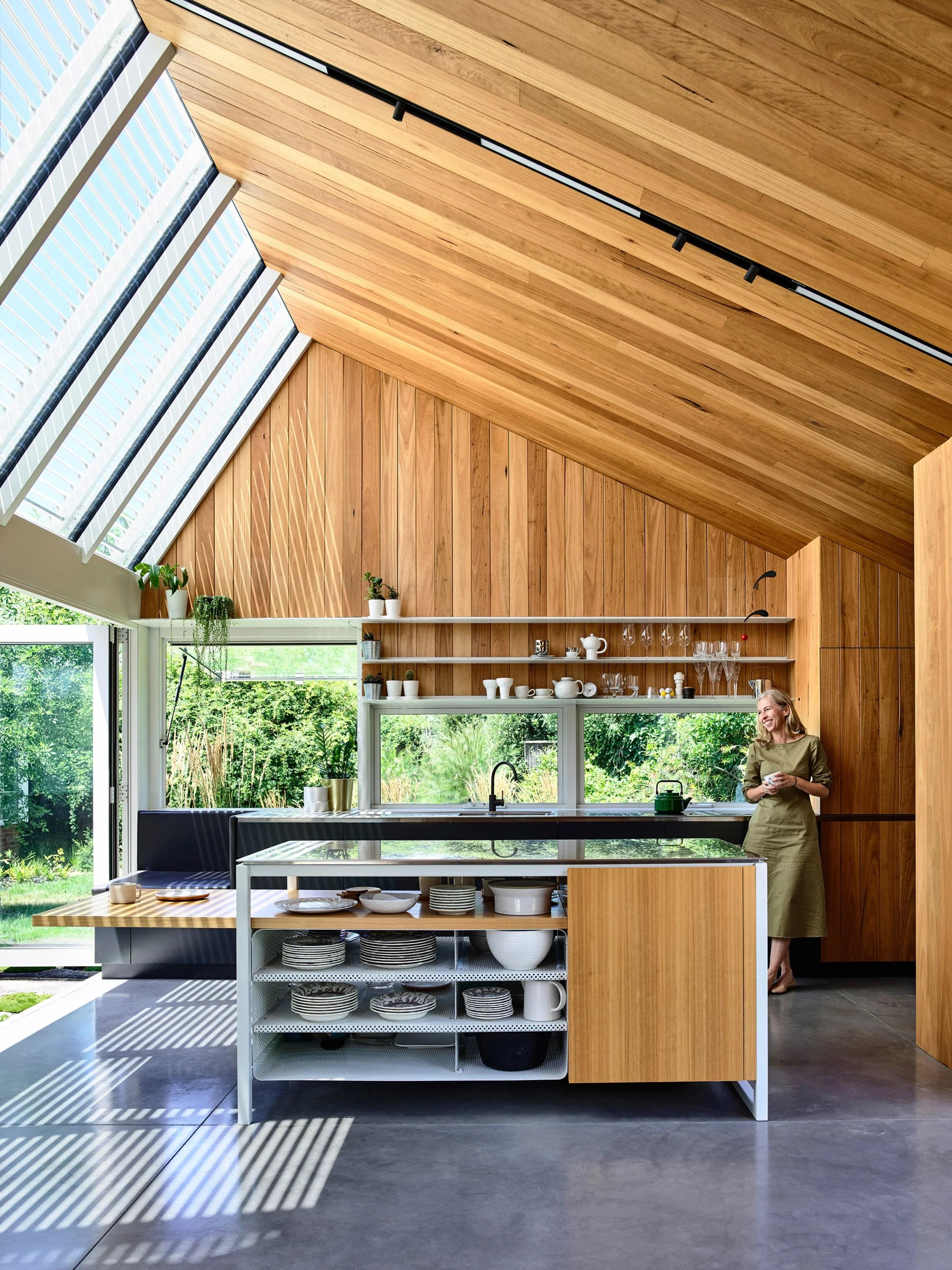 Empire House by Austin Maynard Architects kitchen