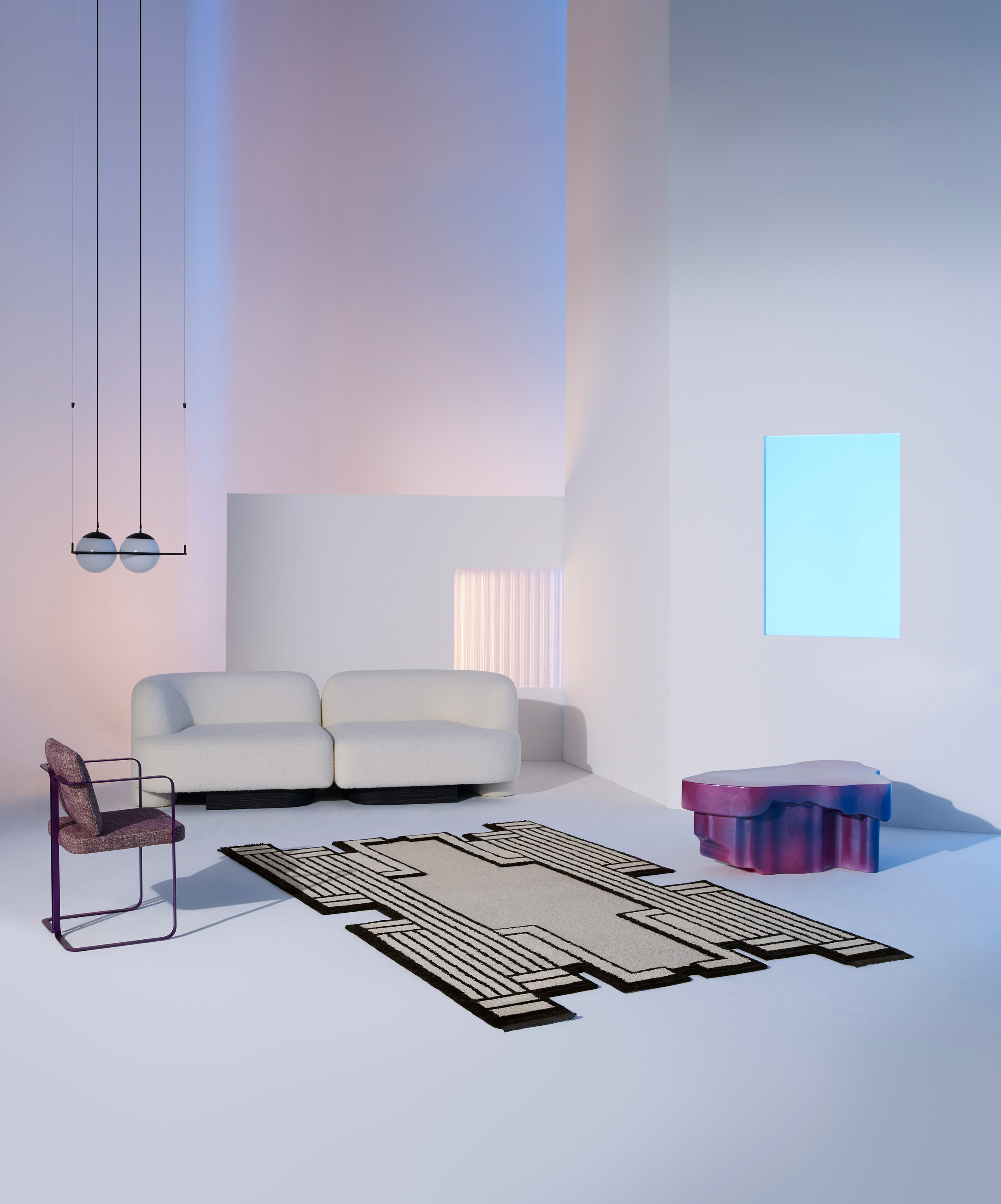 Asmara by Federico Pepe from the Cc-Tapis Spectrum catalogue.