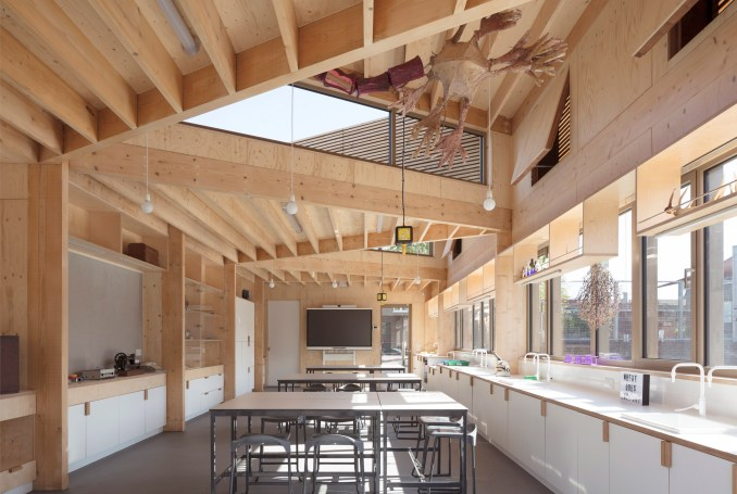 Eleanor Palmer Science Lab by AY Architects