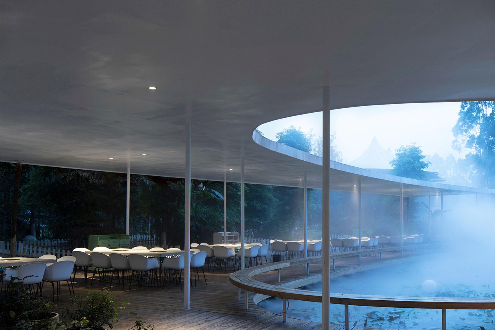 Garden Hotpot Restaurant by MUDA Architects