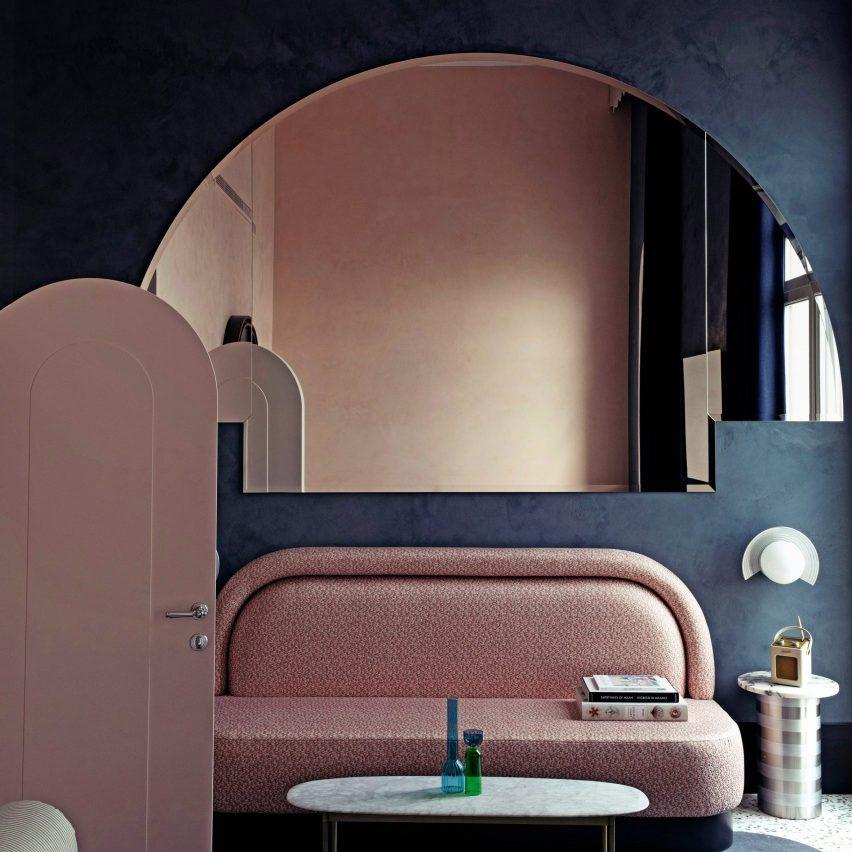 Hotel Il Palazzo Experimental, Venice, designed by Dorothée Meilichzon