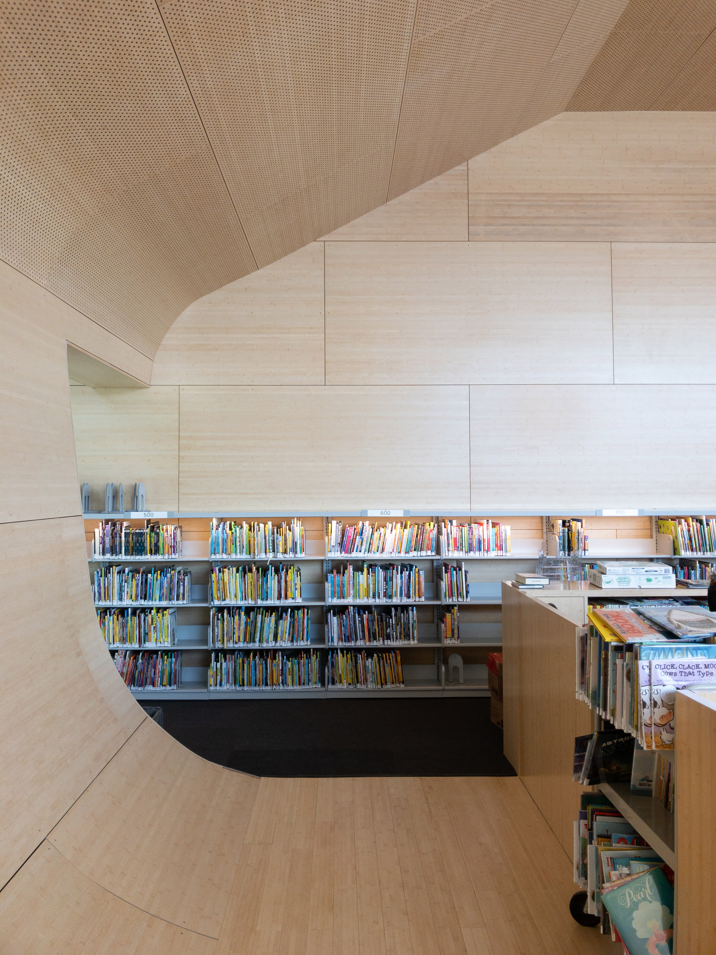 Queens Library at Hunter's Point by Steven Holl Architects