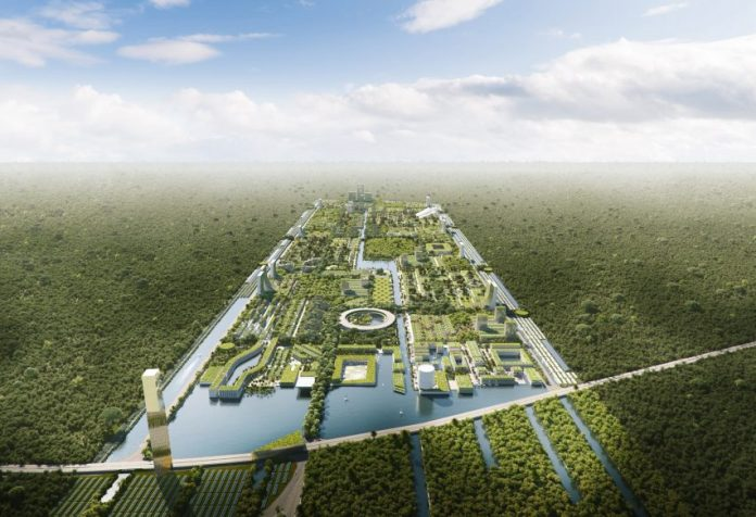 Smart Forest City in Mexico by Stefano Boeri