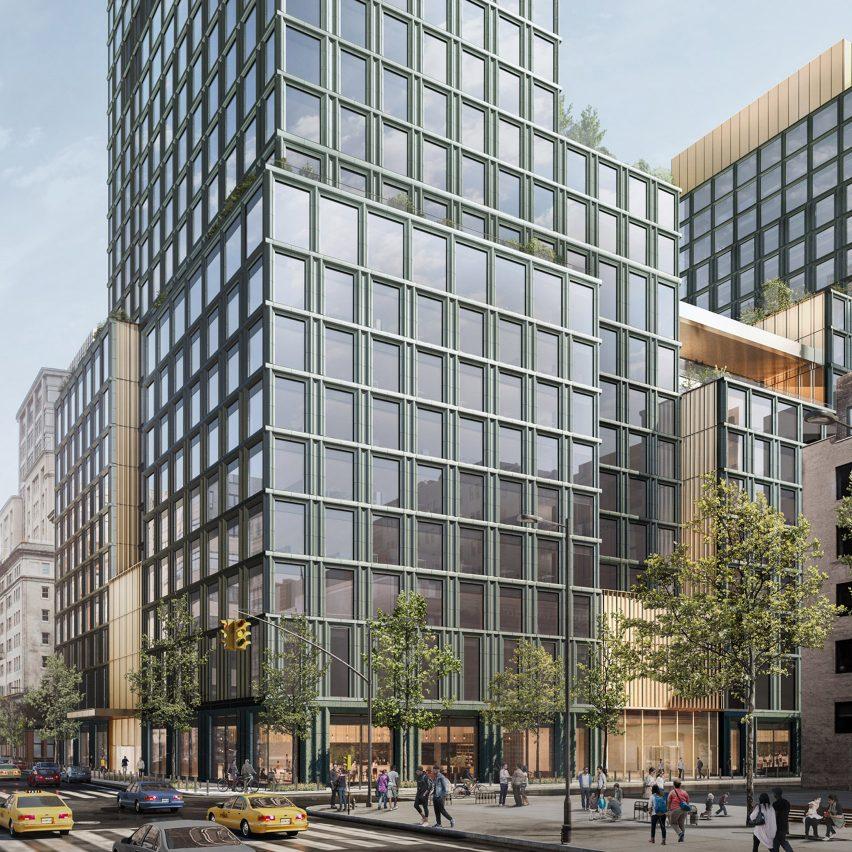 4 Hudson Square Disney Headquarters by SOM