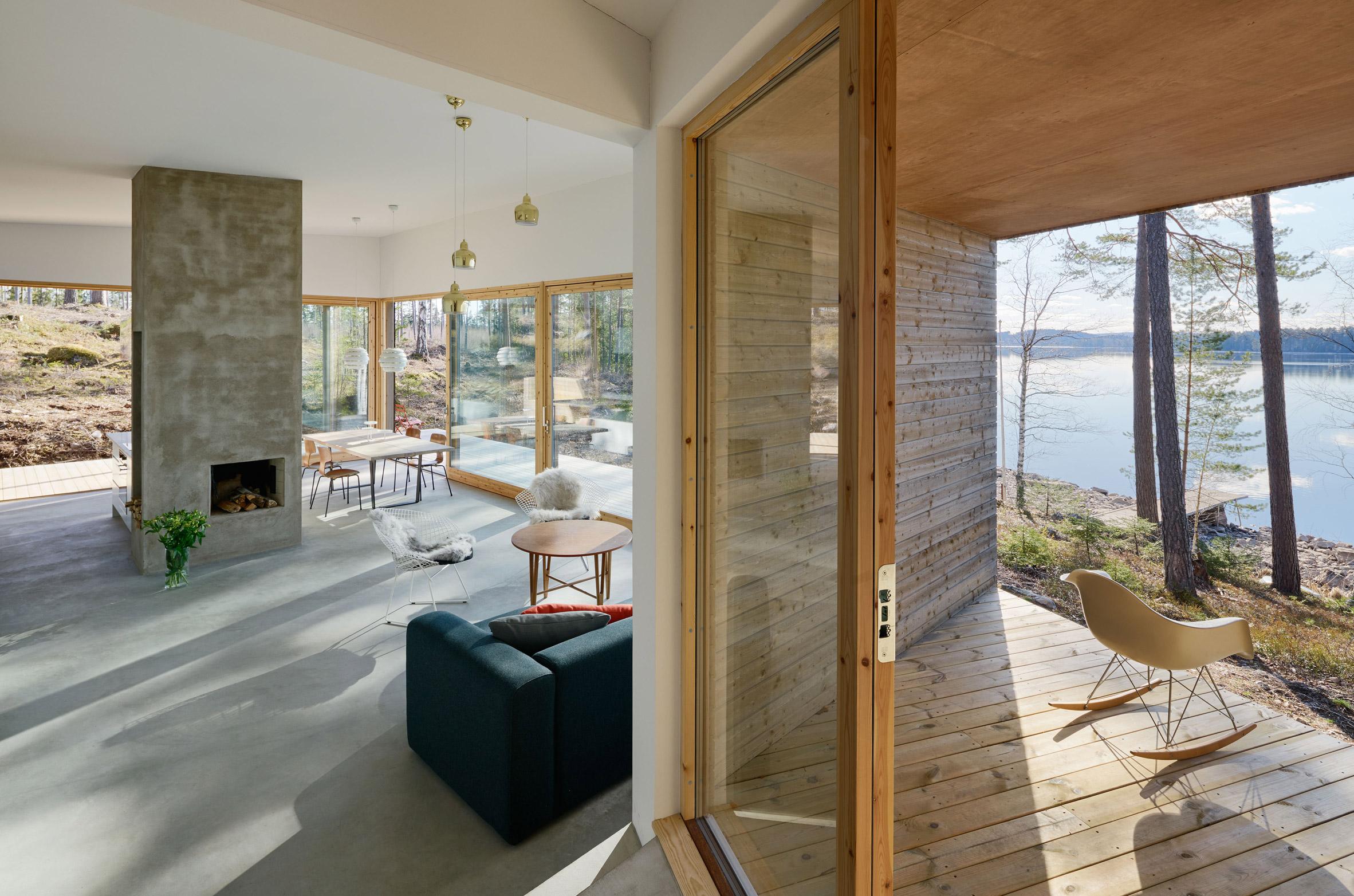 Dalarna House by Dive Architects