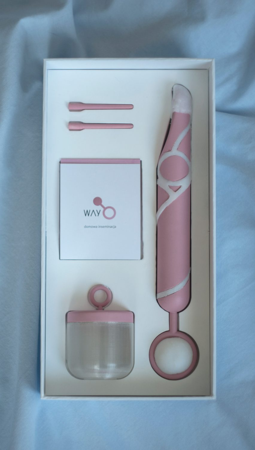 Kamila Rudnicka designs home insemination kit for use as part of sex