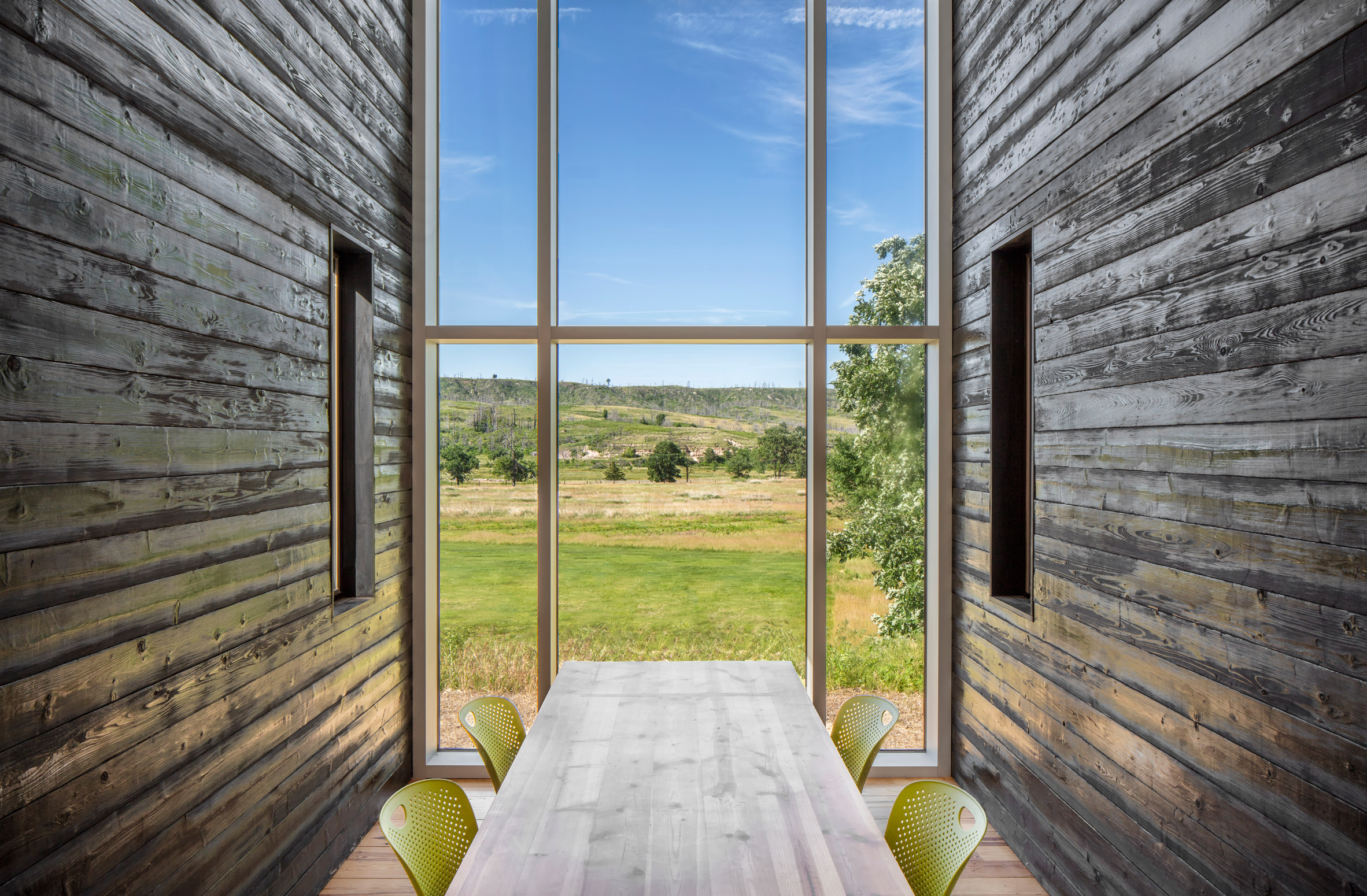 Niobrara River Valley Preserve Visitors Center by BVH Architecture