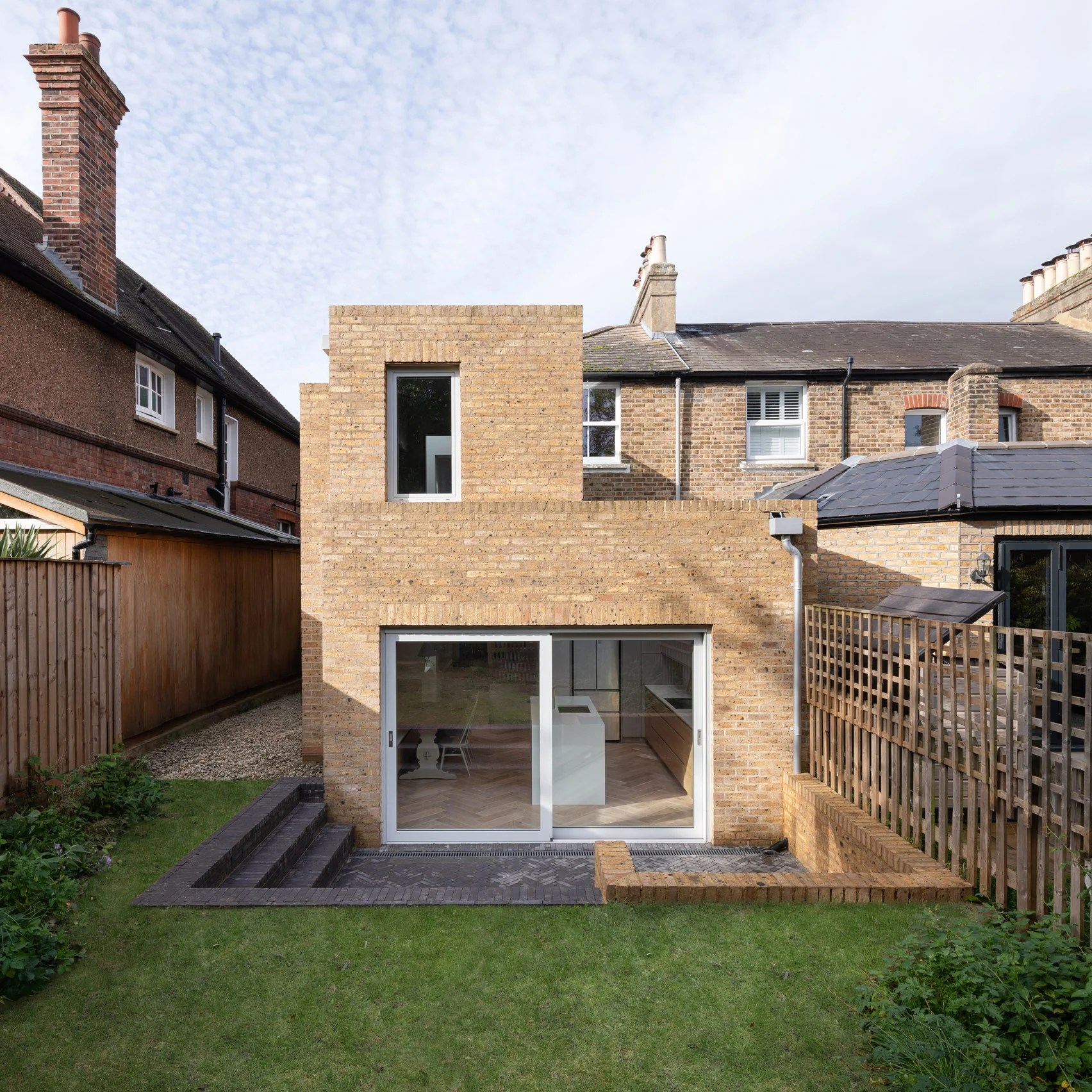 The Step House, Merton, by Grey Griffiths Architects