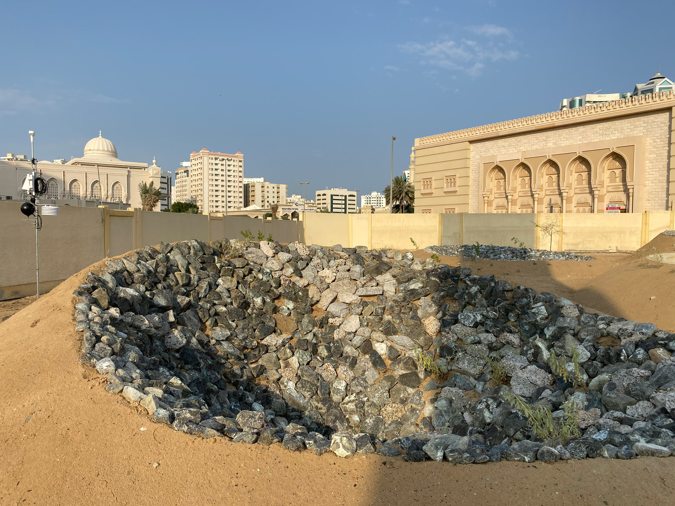 Becoming Xerophile by Cooking Sections and engineer AKII at the Sharjah Architecture Triennial
