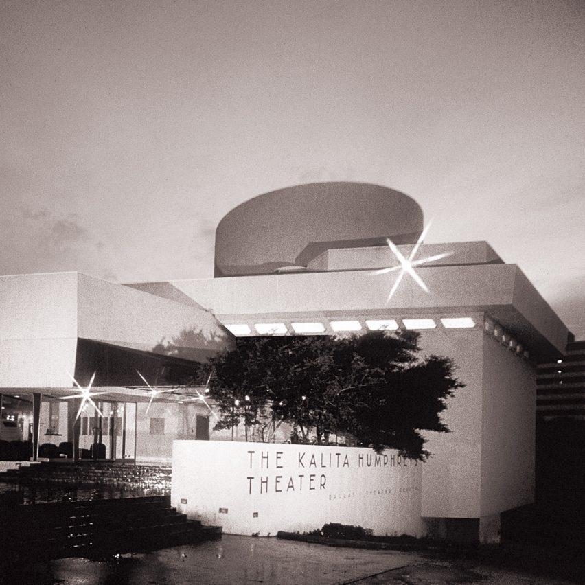 Kalita Humphreys Theater by Frank Lloyd Wright