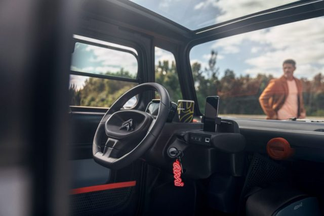 """Citroën rolls out accessible-to-all Ami car that works """"just like a smartphone"""""""