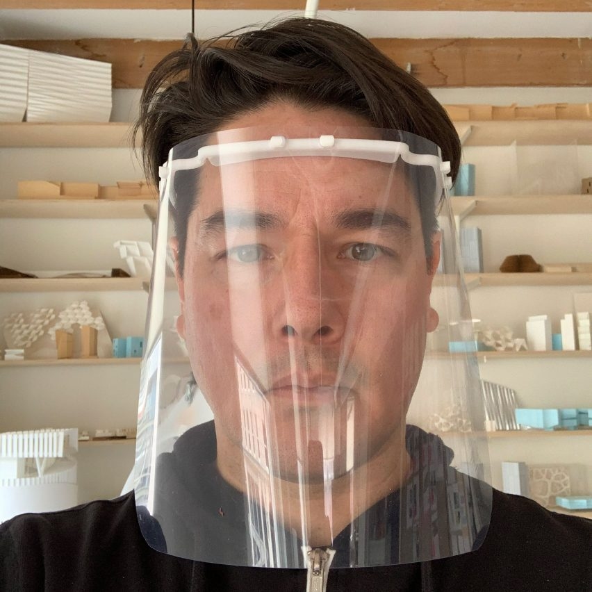 American architects mobilise to make coronavirus face shields for hospital workers