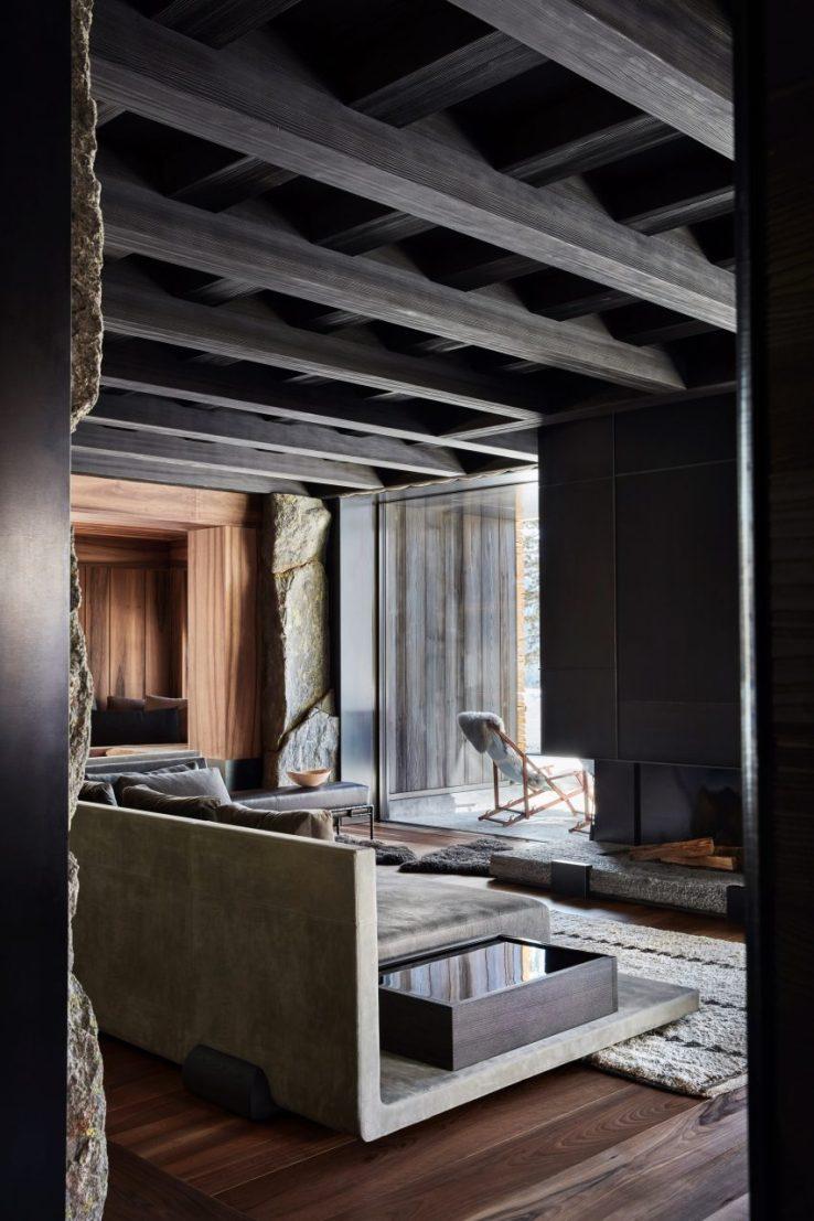 Villas de luxe par Liaigre: Engadine, Suisse