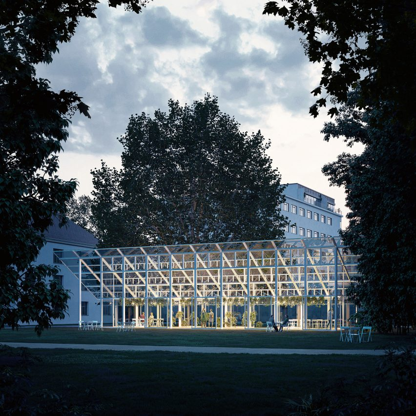 Mendel Greenhouse by Chybik + Kristof