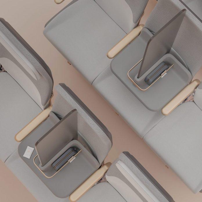 Factorydesign создает изолирующий пассажирский экран для социального дистанцирования на самолетах