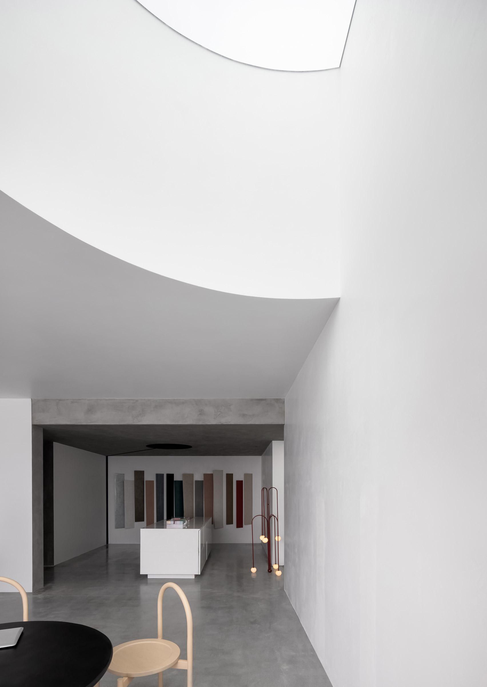 Fusion Danilo paint showroom designed by JG Phoenix