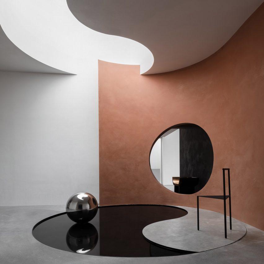 Danilo paint showroom designed by JG Phoenix
