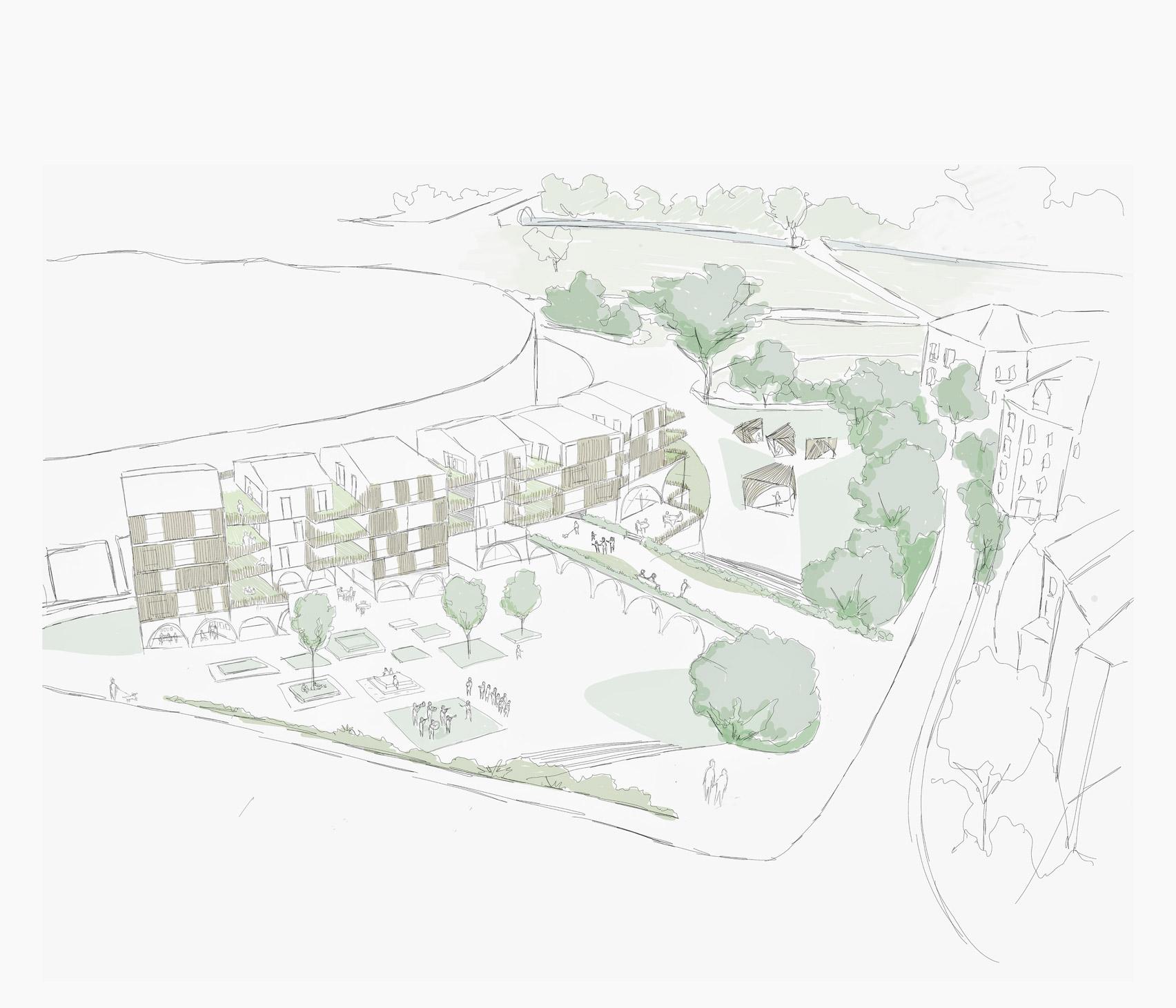 Polyvalent Housing by Ravan Hutchings