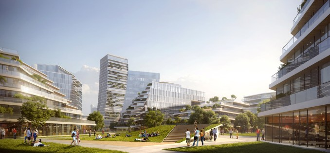 Net City by NBBJ for Tencent