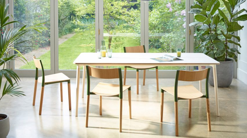 Allermuir Designs Folk Dining Furniture To Be Timeless