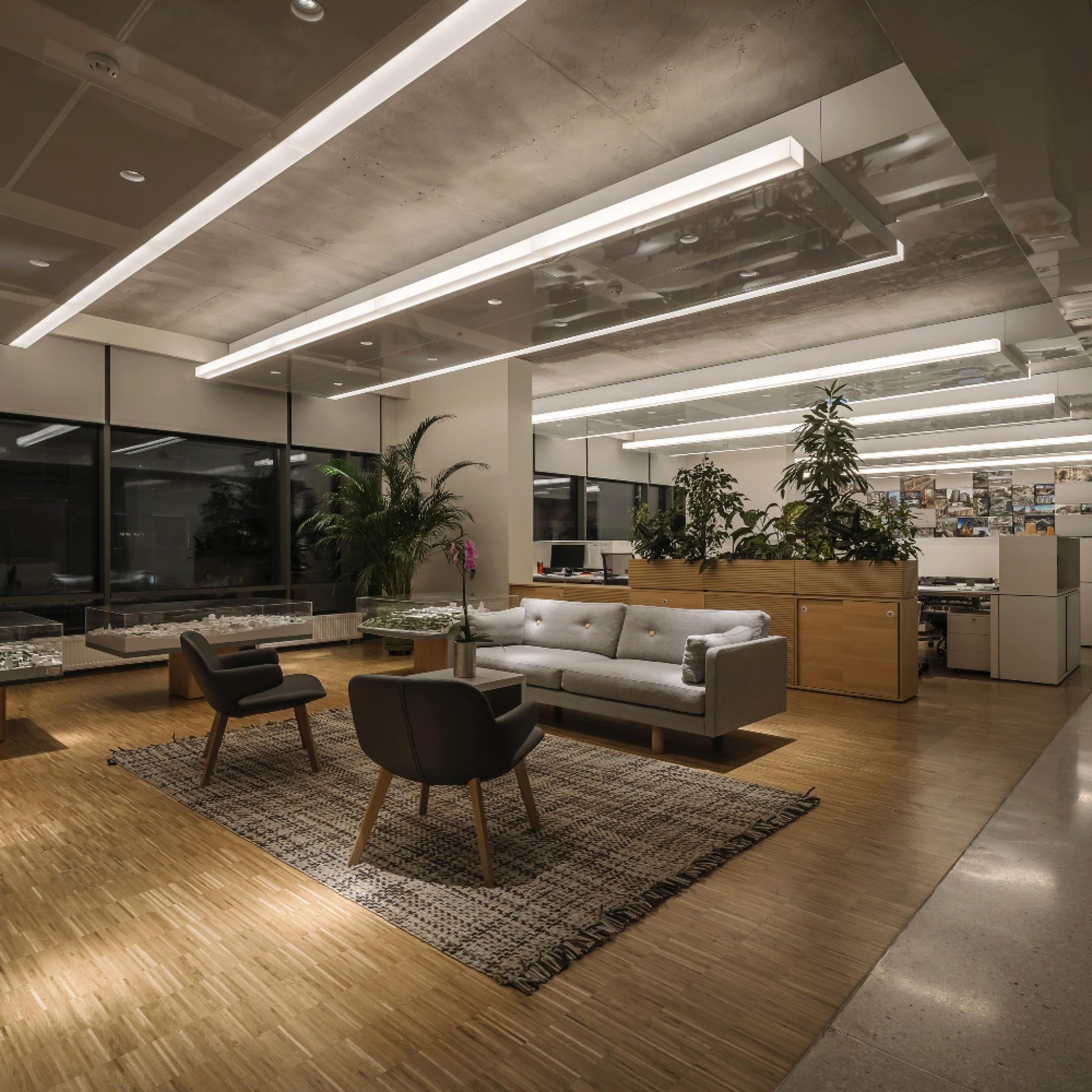 office lighting dezeen awards 2020
