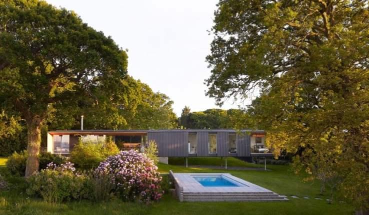 Maison de vacances Island Rest sur l'île de Wight conçue par Ström Architects