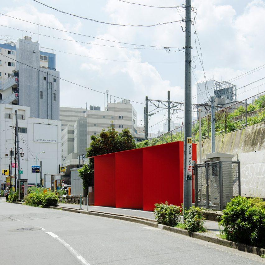 Triangle toilet inShibuya, Tokyo, Japanby Nao Tamura