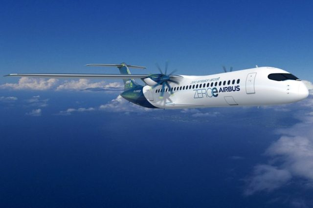 Airbus' new concept for a zero-emission aircraft