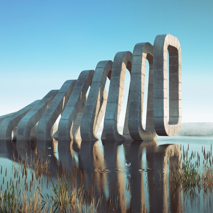 Filip Hodas features in the Dreamscapes & Artificial Architecture book published by Gestalten
