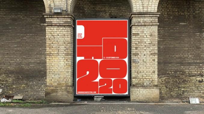Identity for the London Design Festival 2020 designed by Pentagram